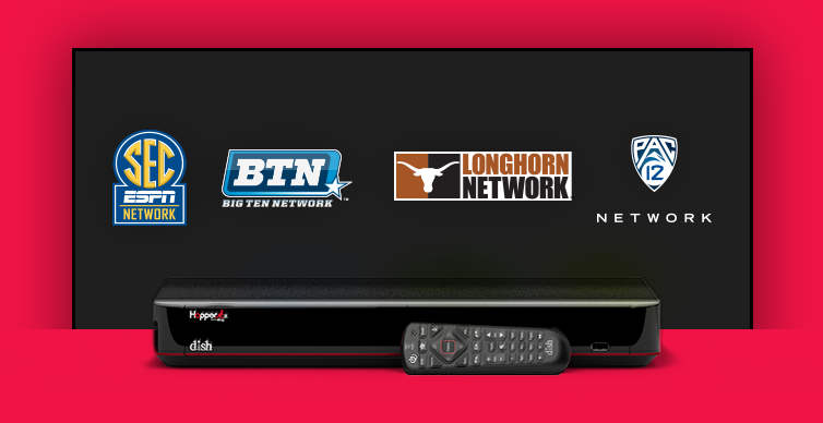 DISH College Sports TV Packages - Fort Kent, Maine - Gene's Electronics - DISH Authorized Retailer
