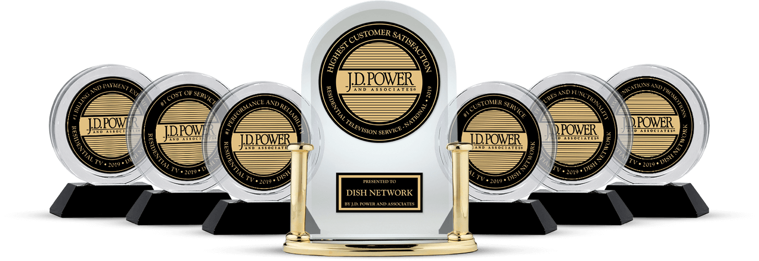 DISH Customer Satisfaction - Ranked #1 by JD Power - Gene's Electronics in Fort Kent, Maine - DISH Authorized Retailer