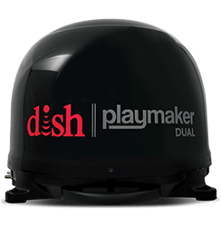 DISH Playmaker Dual - Outdoor TV - Fort Kent, Maine - Gene's Electronics - DISH Authorized Retailer